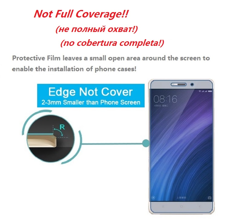 Clear LCD Screen Protector for Xiaomi Redmi Note 4 4X Protective Film on for Xiaomi Redmi Note 4X 4 Screen Protector Film Foil in Phone Screen Protectors from Cellphones Telecommunications