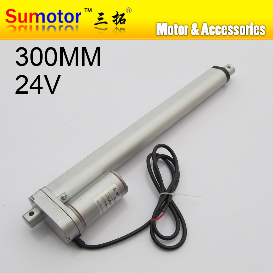 H300 12 stroke 300mm travel Electric linear actuator DC motor DC 24V 10mm/s Heavy Duty Pusher 90Kg for care bed windows opening l200 8 inch 200mm stroke electric linear actuator dc motor 12v 24v 5 10 15 30mm s heavy duty pusher progressive 600 300 100 70kg