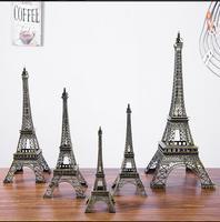Large Size!48cm Height Eiffel Tower Metallic Model Crafts Vintage Bronze Color Separation Design For Home&Office Decoration