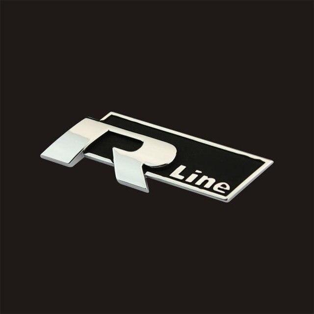 Online Shop Car Stickers Three Dimensional Standard Metal Logo R