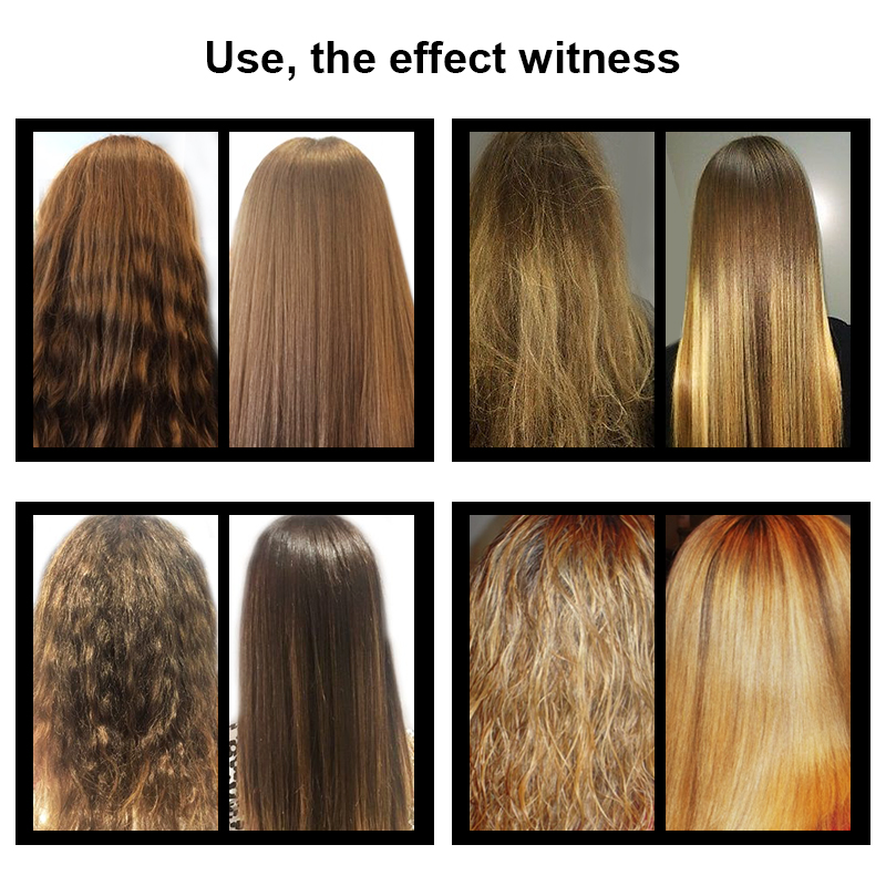 PURC Brazilian Keratin Treatment straightening hair 5%formalin Eliminate frizz and have shiny hair treatment free gift agran oil 3