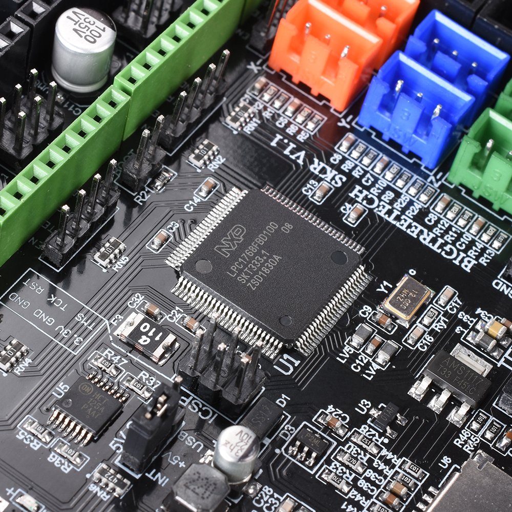 BIGTREETECH SKR V1 1 Control Board 32-Bit CPU Smoothieboard Like MKS GEN L  V1 0 3D Printer Parts TMC2130 TMC2208 DRV8825 A4988