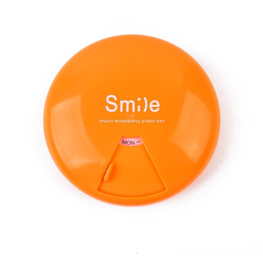 1PC bärbar 7-dagars veckoplappsresor medicin box dispenser kapsel - Sjukvård - Foto 4