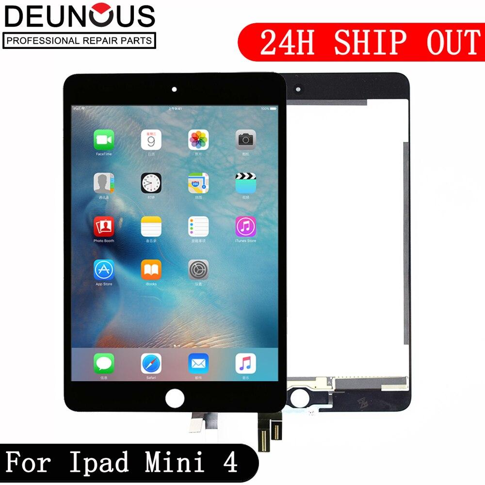 Nouveau Pour ipad mini 4 Lcd Écran Pour ipad mini4 A1538 A1550 EMC 2815 EMC 2824 lcd affichage à l'écran tactile assemblée Livraison Gratuite