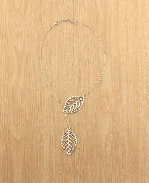 Lace Leaf Necklace