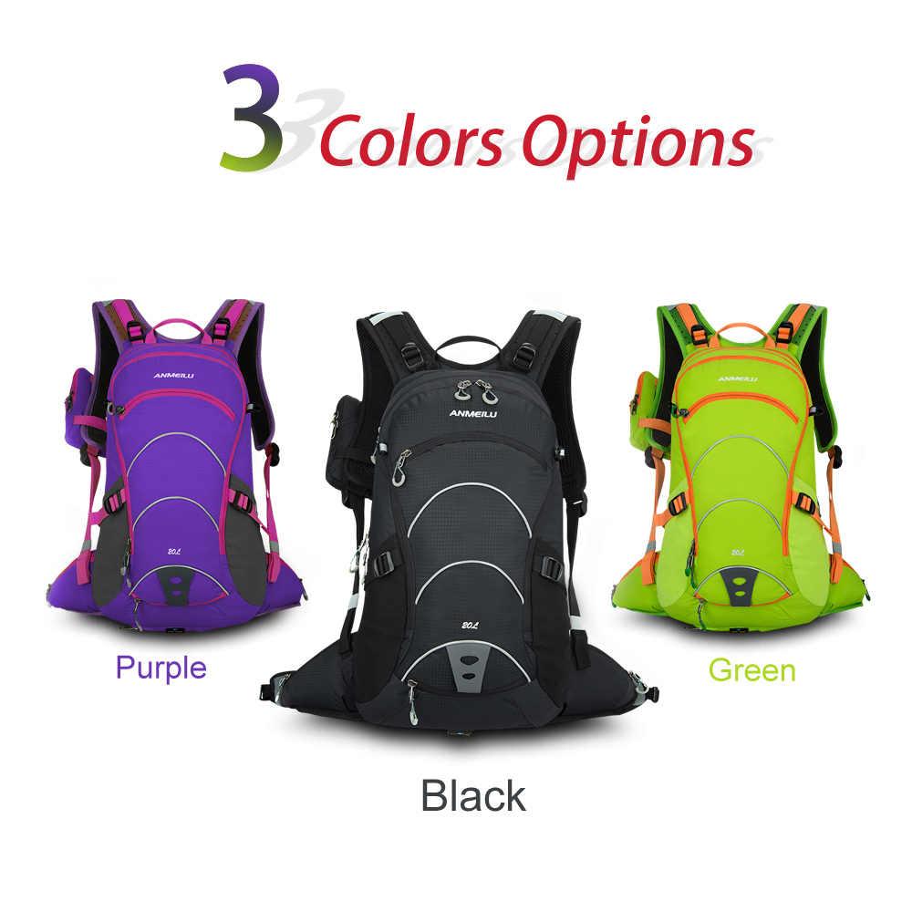 20L нейлон открытый рюкзак альпинизм сумка нейлон Путешествия Поход лагерь Восхождение Bagpack ноутбук задняя сумка Зеленый/фиолетовый/черный