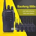 10 pçs/lote baofeng bf-888s walkie talkie 5 w uhf handheld walkie talkie bf 888 s 400-470 mhz 16ch two way raio transceptor portátil
