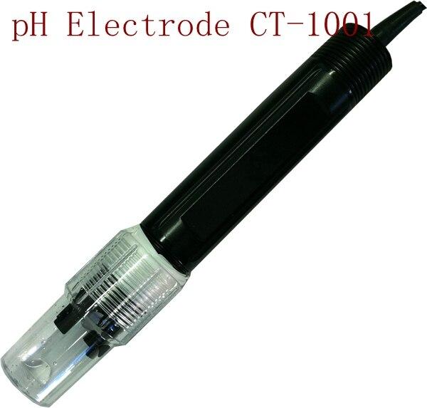 Capteur industriel de pH d'électrode de PH CT-1001 gamme de PH de 0-50 degrés: 0-14 pour l'expérience d'industrie d'usine d'interface liquide de PTFE