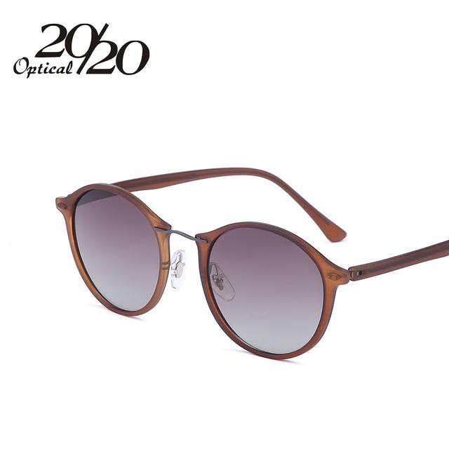 20/20 Brand New Women Sunglasses Men Mirror Polarized Driving Travel Unisex Round Glasses Brand Eyewear Oculos Gafas