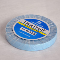 1cm*12Yards Blue Top Tape Hair Extensions Double Sided Adhesives Tape For Tape Hair Extensions/Toupee/Closure