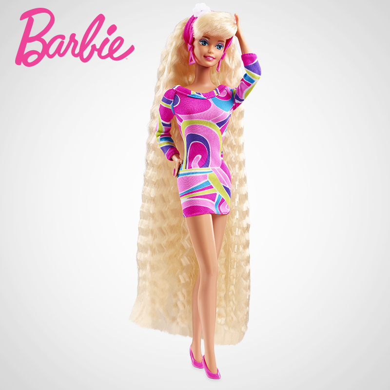 Totally Hair Barbie Doll 25th Anniversary Collector's