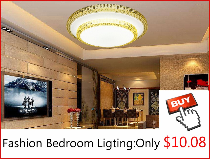 Fashion-Cheap-Plastic-Crystal-Unique-Shape-Room-Led-Lights-Lighting-Fixture-Round-ceiling-Lamp-Girls-Bedroom