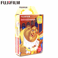Fujifilm 10 Sheets Instax Mini Beauty And The Beast Instant Film Photo Paper For Instax Mini
