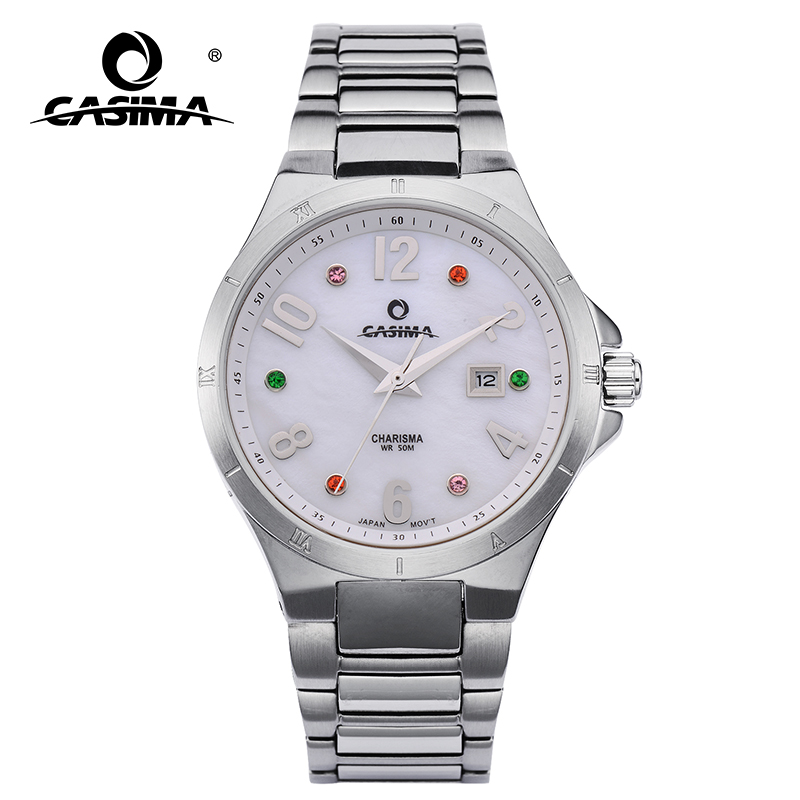 Luxury brand watches women 2017 fashion women s quartz wrist watch female watches waterproof #CASIMA 5104