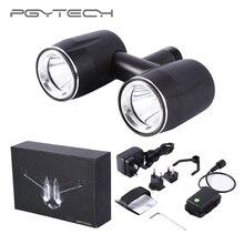 Acessórios LED light para DJI Inspire 2 Zangão Zangão PGYTECH 200-500 m Farol Holofotes Noite Navegação 600 Lumens