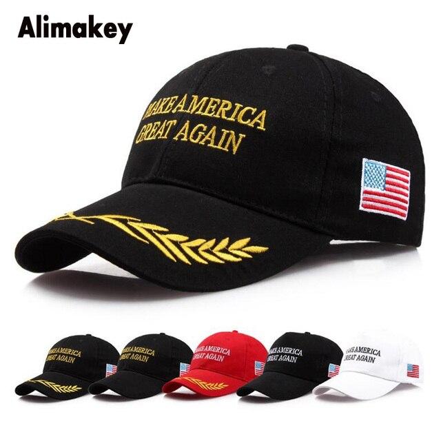 2018 Make America Great Again Hat Donald Trump Baseball Cap Patriots Hat  Embroidery Logo Dad Hats Snapback Trucker Hip Hop Caps afd45689a5b