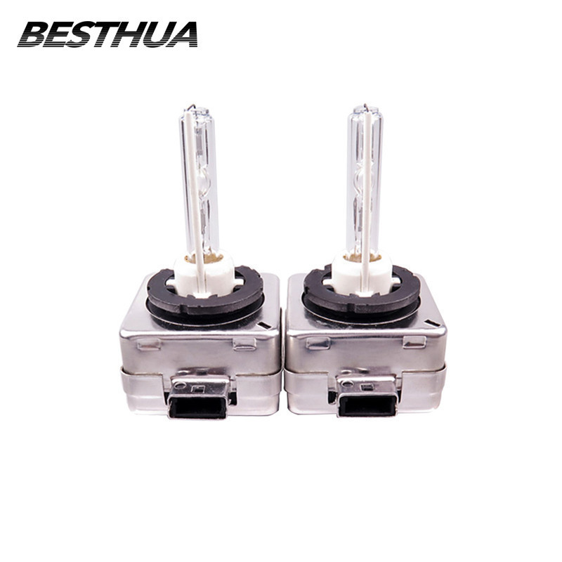 2Pcs HID Bulb D1S D2S Xenon HID Lamp Globe Lights 35W 4300K 5000K 6000K 8000K 10000K AUTO Car Headlight Bulbs 3200lm цена 2017