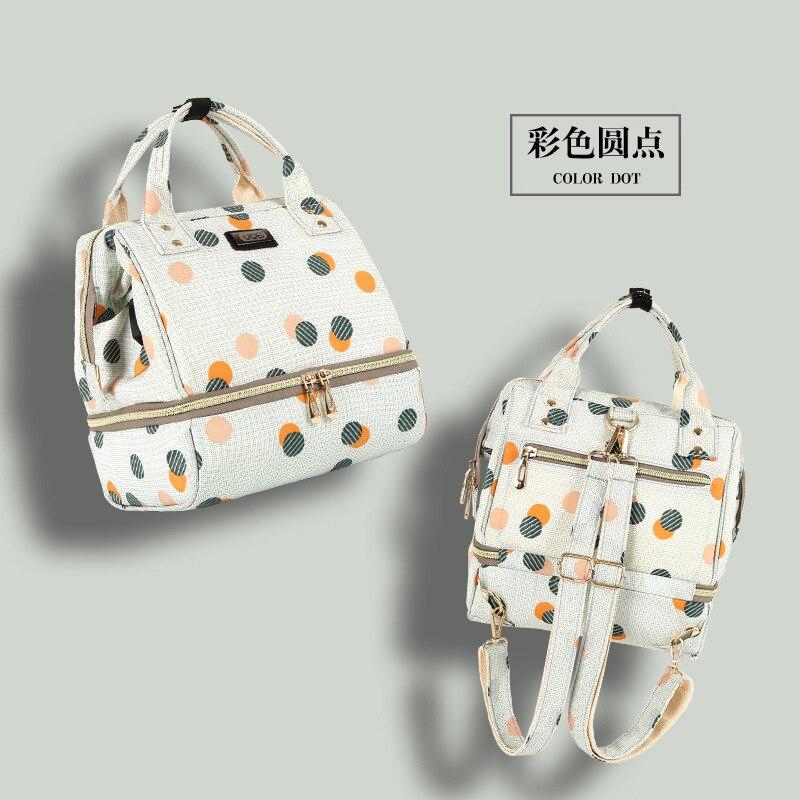 Fashion Portable Shoulder Small Mummy Breast Preservation Bag Maternal Baby Backpack Preserve Mother\`s Milk Bag Mon Backpack
