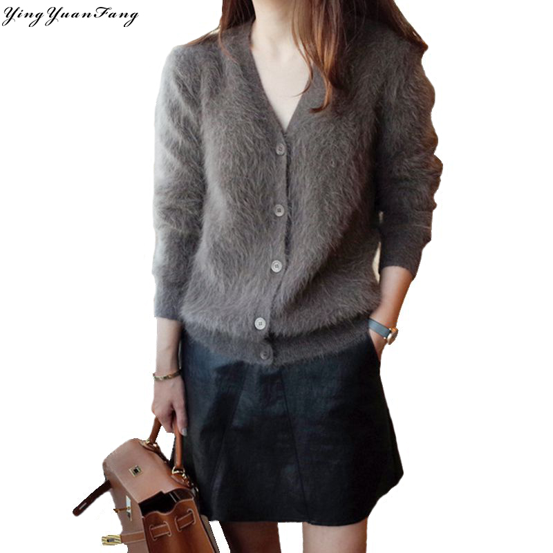Winter Knitted Cashmere Poncho Capes Shawl Cardigans Sweater Coat SamMoSon 2019 WomenSweater
