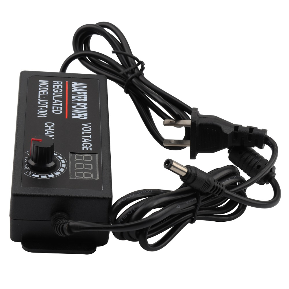 3~12V 5A Max Adjustable universal AC <font><b>Adapter</b></font> 110 220V to 3V <font><b>4.5V</b></font> 5V 7.5V 9V 12V AC <font><b>DC</b></font> <font><b>adapter</b></font> 5 9 12 Volt power supply Adaptor image