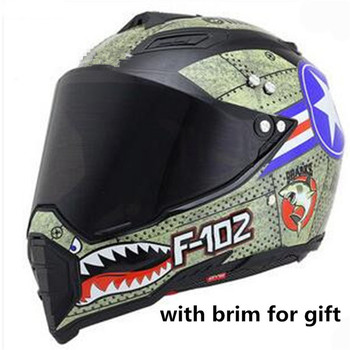 dark Lens full face motorcycle helmet for knight Adult motorbike helmet moto casco S M L XL XXL