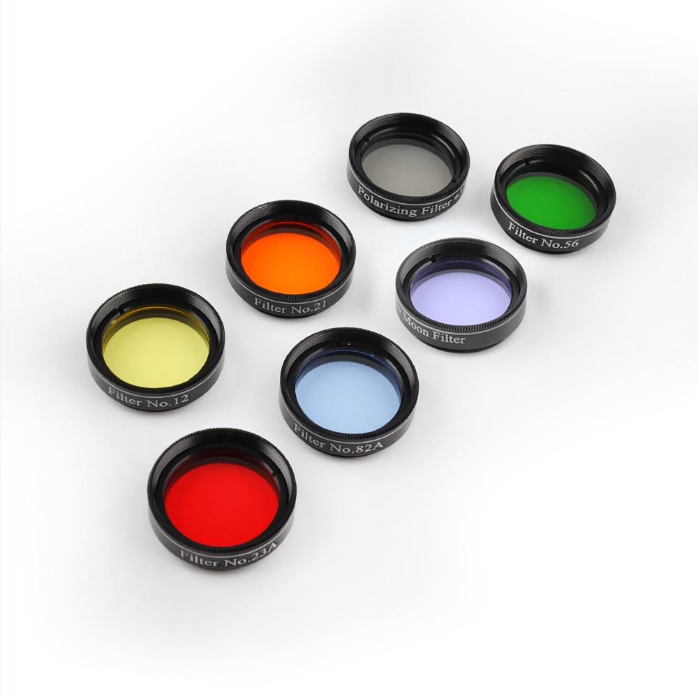 Teleskoopfiltrite komplekt 1.25 '' 7 filtrit