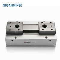 NBSANMINSE MHF2 низкопрофильный Воздушный Захват пневматический захват Линейный Электрический параллельный захват SMC тип воздушный цилиндр