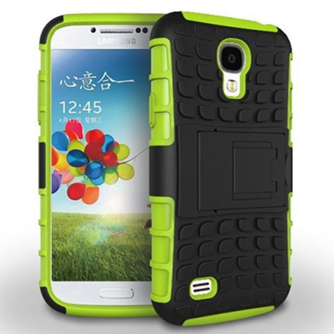 For Samsung Galaxy S4 Case Samsung S4 Cover I9500  Anti Knock Pc Silicone Mix Hybrid Protective Shell Fundas Coque