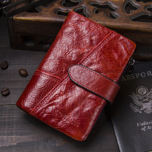 Image 5 - HOT!!! Genuine Leather Women Wallet Female Small Card Holder Money Bag Lady Perse For Girls Coin Purse Portomonee Rfid Walet