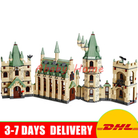DHL In Stock Lepin 16030 Movie Series The Harry Potter Hogwarts Castle Educational Building Blocks Bricks