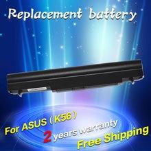 JIGU Аккумулятор для Ноутбука Asus A32-K56 A41-K56 K56C K56CA K56CM K56CA K56CM K46 K56 K46CM K46CA K46CM 5200 мАч 14.8