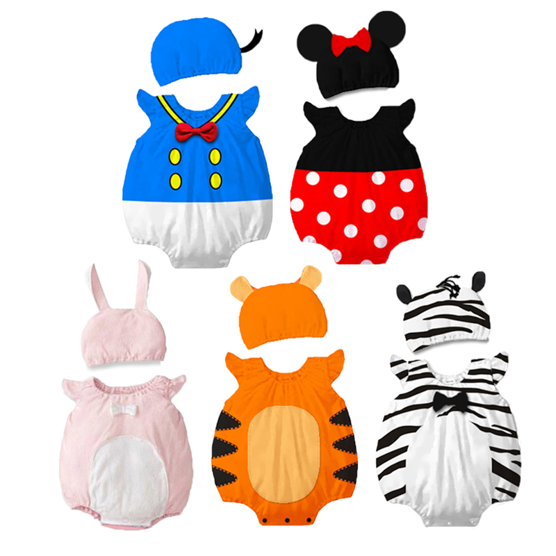 Infant Minnie Mouse Costume | Baby Boy Girl Minnie Mouse Costume Newborn Rompers Kids Bodysuits Set Cotton Romper Clothes Infant Tiger Animal Cosplay Jumpsuit On AliExpress