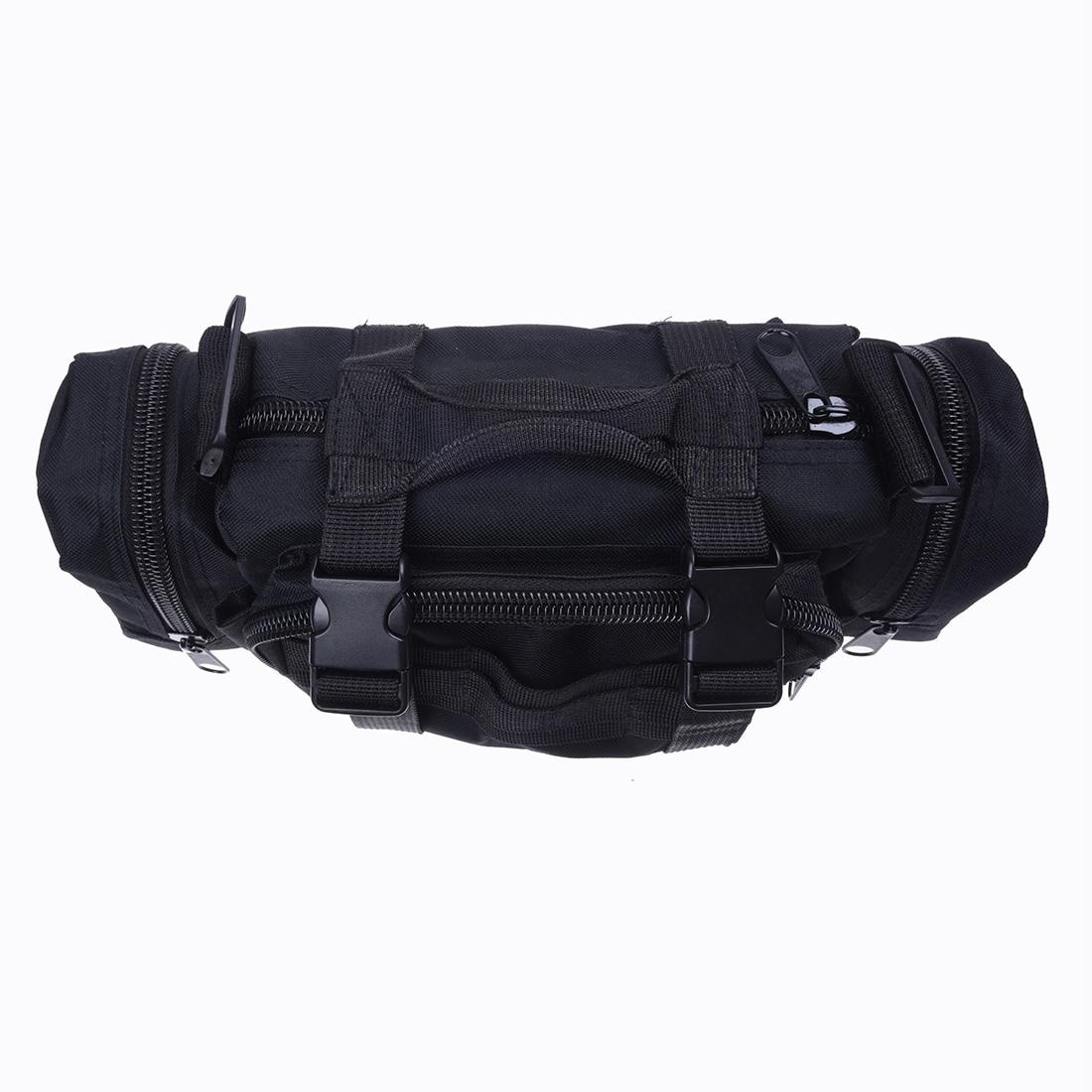 Hot Fashion Black Shoulder Bag 20L Waterproof 800D Nylon Belt Crossbody Traveling Bag