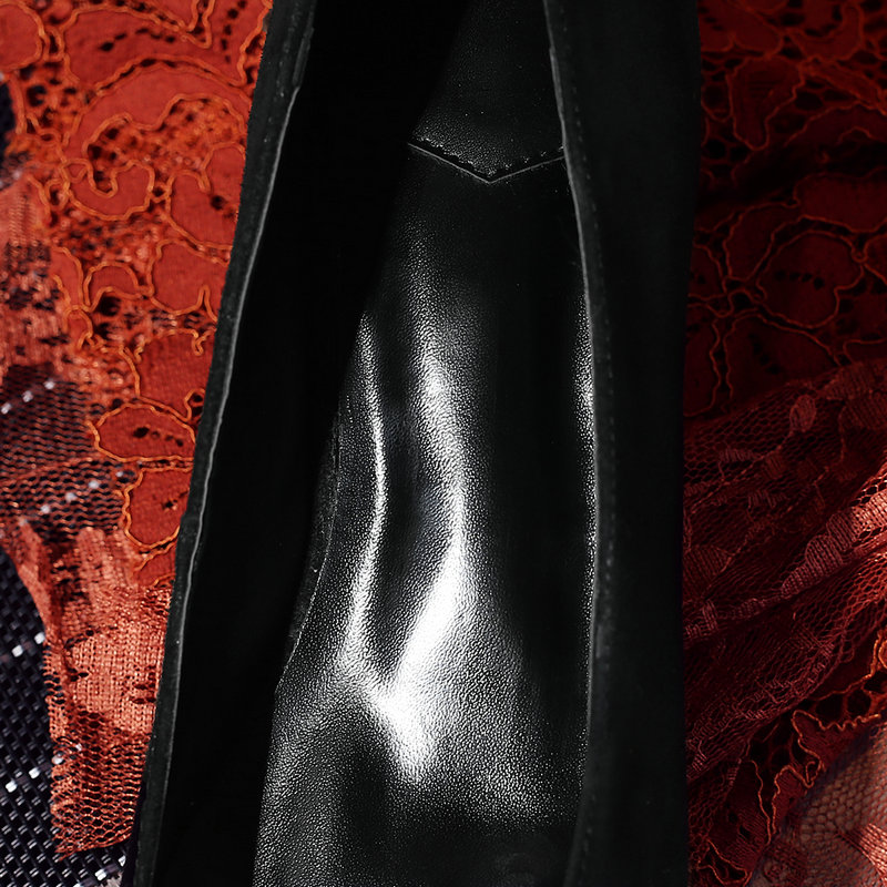 En Dames Chaussures Véritable Parti Femmes marron 42 Plat Grande Noir 2019 Robe Noir Taille Brun Cuir D'été Femme f5vXq