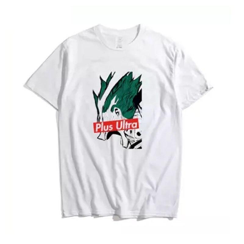 Cosroad Boku No My Hero Academia Midoriya Izuku One for All T Shirt Men Cotton Summer T-shirts1 (10)