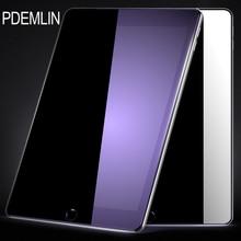 Protector de pantalla para ipad 2017 PDEMLIN Anti-azul claro 9 H Vidrio Templado Protector de Pantalla Anti-arañazos Para ipad A1822 A1823