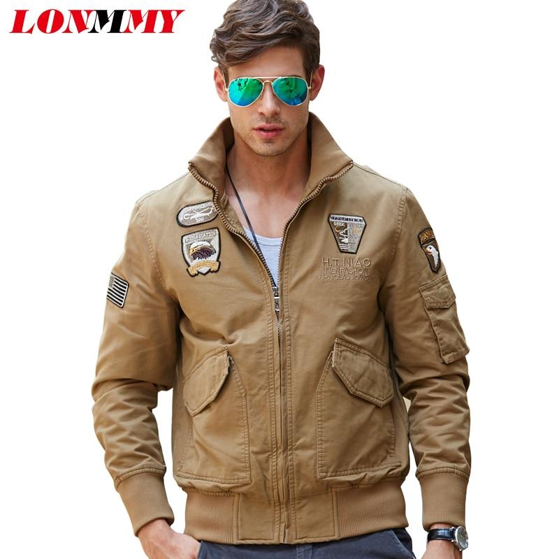Aliexpress.com : Buy LONMMY 2017 Bomber jacket men Cotton Wool ...
