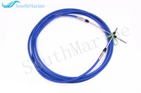 Boat Motor Remote Control Throttle Shift Cable 17ft For Yamaha Tohatsu Outboard Engine Steering System 5