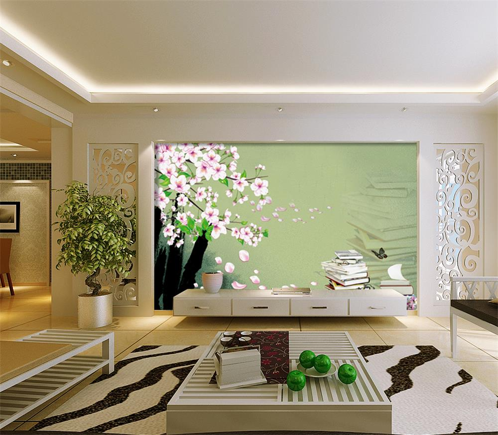 Wallpaper flower promotion shop for promotional wallpaper for 3d room wallpaper