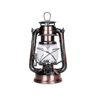 1 Pcs LED Oil Lamp Iron Candlestick Candle Kerosene Lamps Portable Alcohol Lamp Lighting Novelty Gift
