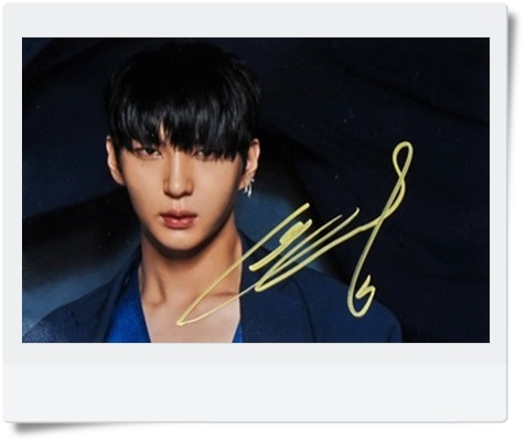 signed VIXX LEO autographed MINI 4th album original photo 6 inches freeshipping 062017