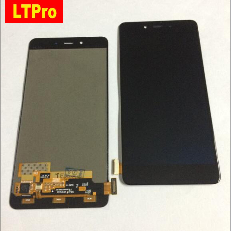 LTPro Best Tested Working Glass Sensor LCD Display Touch Screen Digitizer Assembly For Oneplus X E1001 Phone Panel Replacement