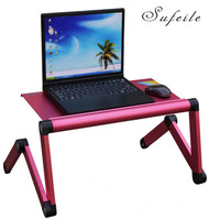 New Arrival Folding Table Adjustable Portable Laptop Table Stand Lap Sofa Bed Tray Computer Notebook Desk