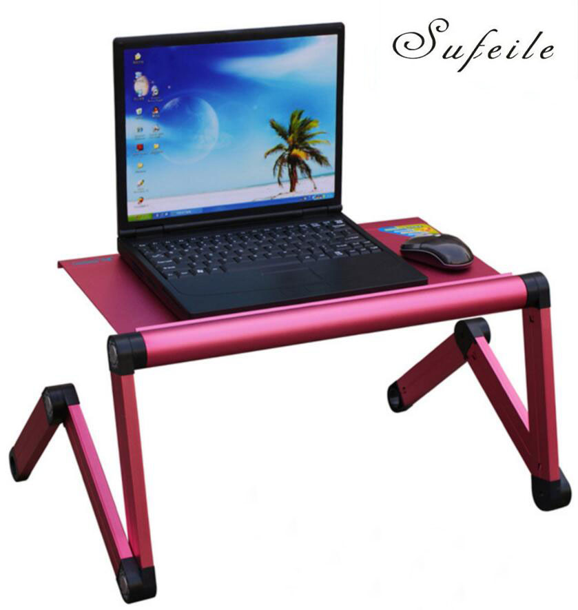 New arrival folding table adjustable portable laptop table for Futon portatil