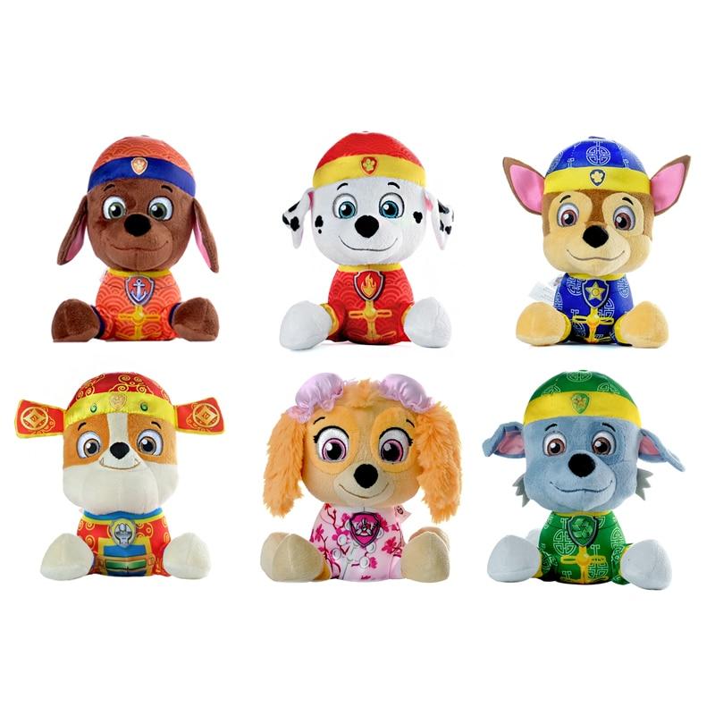 Paw Pattuglia Cucciolo Patrol Dog Plush Doll Anime Giocattoli Bambini Action Figure Modello Della Bambola Della Peluche Farcito e Peluche Animali Giocattolo regalo