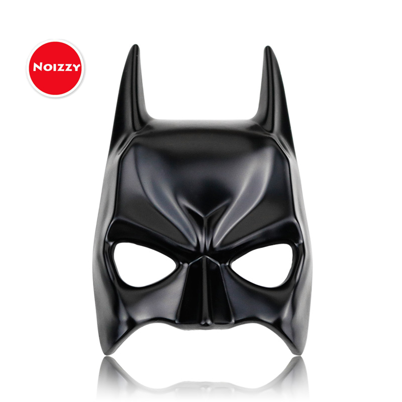1x 3D Car Auto Superhero Batman Mask Logo Metal Black Emblem Badge Decal Sticker