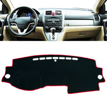 цена на Car Dashboard Cover Mat Pad Dashmat Sun Shade Instrument Protect Carpet For Honda CR-V CRV 2007 2008 2009 2010 2011 Accessories
