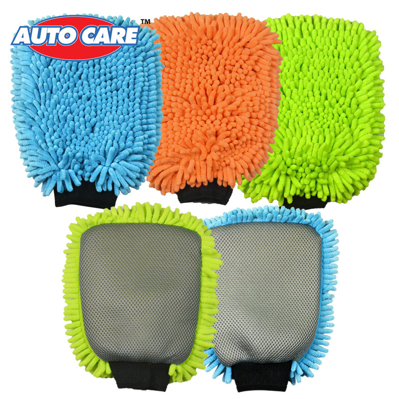 Microfiber Glove Mitt For Car Cleaning Washing