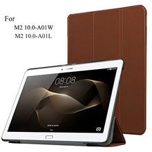 Envío gratis párr mediapad m2 10.0 (10.1 pulgadas) de la tableta cubierta de la cáscara elegante case, cubierta case para huawei m2 10.0-a01m a01l ultraslim