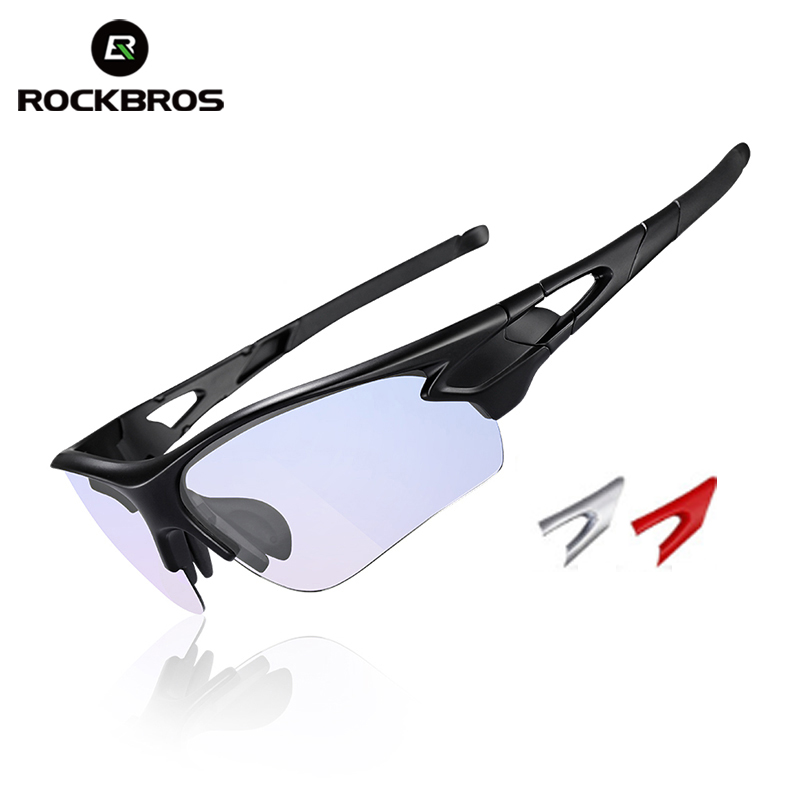 ROCKBROS Cycling Bike Bicycle Sunglasses Anti-blue Ray Computer Photochromic Glasses Outdoor Eyewear Myopia Frame Bike Equipment rockbros polarized photochromic cycling glasses bike glasses outdoor sports bicycle sunglasses goggles eyewear with myopia frame
